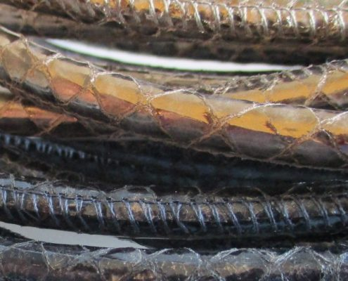 Production of braided cords