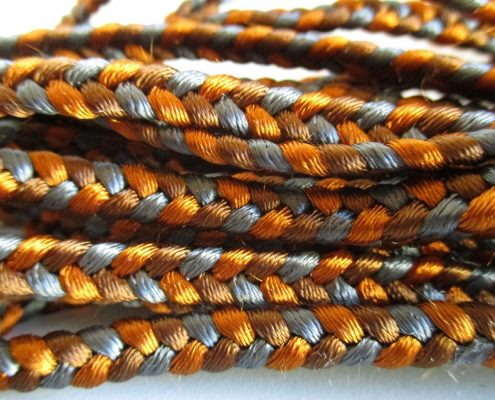 Personalization of leather braids