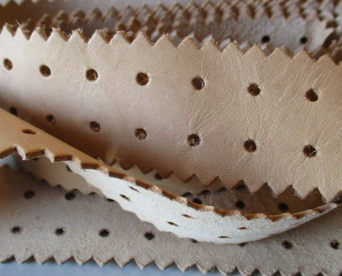 Leather trims manufactured