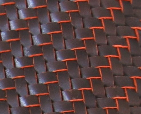 Braided Leather for footwear, furniture and clothing