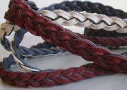 Italian leather braids